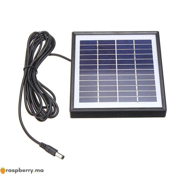Ext-rieur-3-m-tres-c-ble-panneau-solaire-5W-12V-chargeur-solaire-Portable-chargeur-rapide-5