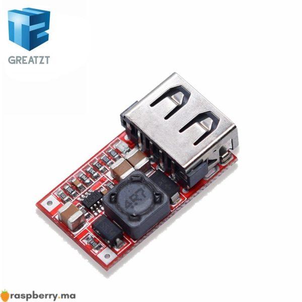 Fine-6-24-V-12-V-24-V-5-V-3A-VOITURE-USB-Chargeur-Module-DC