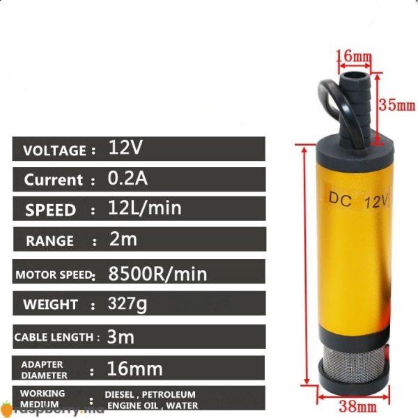 Mini-pompe-Submersible-lectrique-portative-de-12-V-24-V-DC-pour-pomper-la-pompe-de-4