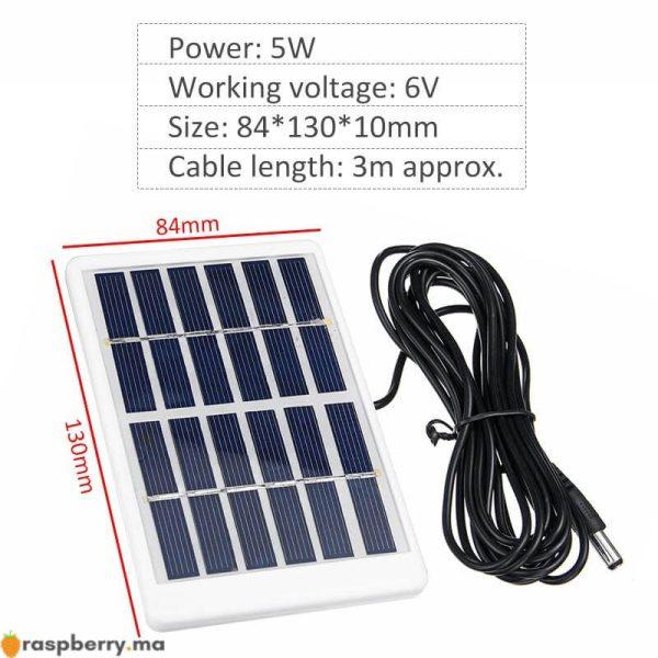 Portable-5W-6V-panneau-solaire-ext-rieur-chargeur-solaire-panneau-3-m-tres-c-ble-escalade-5
