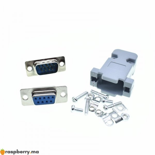 RS232-connecteurs-de-Port-s-rie-DB9-femelle-m-le-prise-Shell-connecteur-de-prise-en