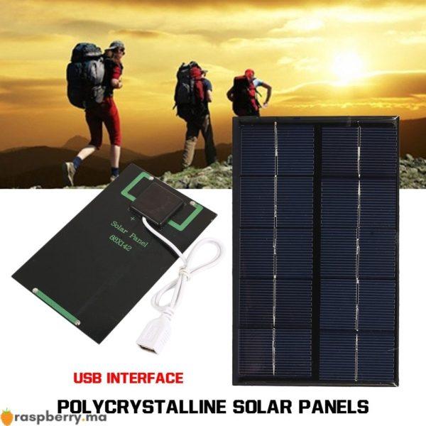 USB-panneau-solaire-ext-rieur-5W-5V-Portable-panneau-de-chargeur-solaire-escalade-chargeur-rapide-polysilicium-2