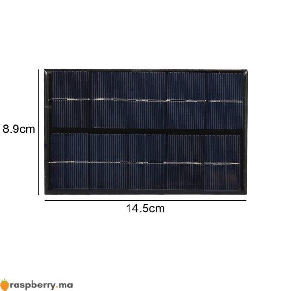 USB-panneau-solaire-ext-rieur-5W-5V-Portable-panneau-de-chargeur-solaire-escalade-chargeur-rapide-polysilicium-5