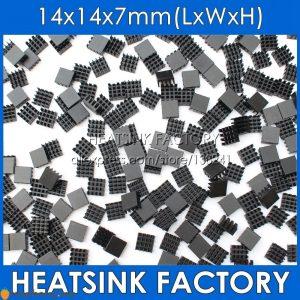 10 Dissipateurs thermiques 14x14x7mm - 1