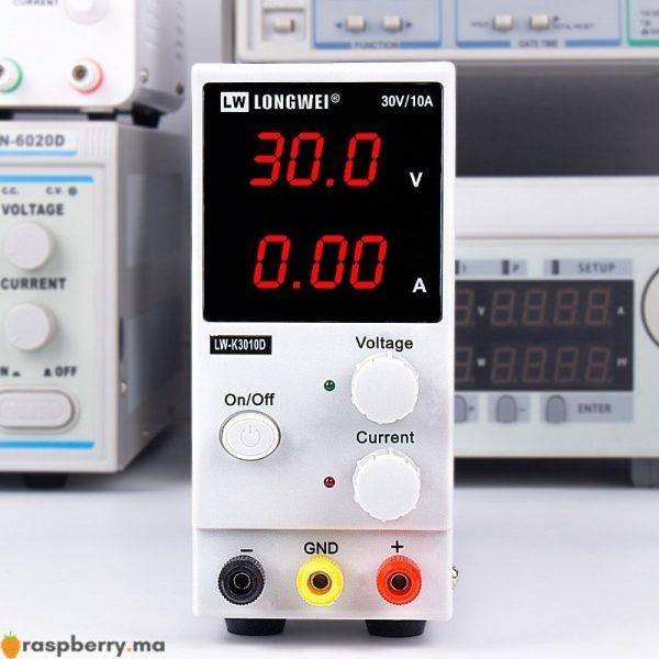 Alimentation de laboratoire réglable 30V 10A