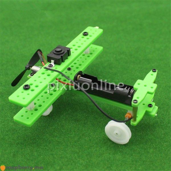 Kit DIY Aéronef à voilure fixe Modèle réduit