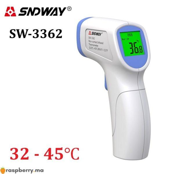 Thermomètre numérique à infrarouge SW-3362