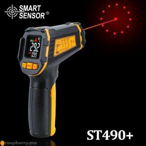 Thermomètre numérique à infrarouge sans contact ST490+