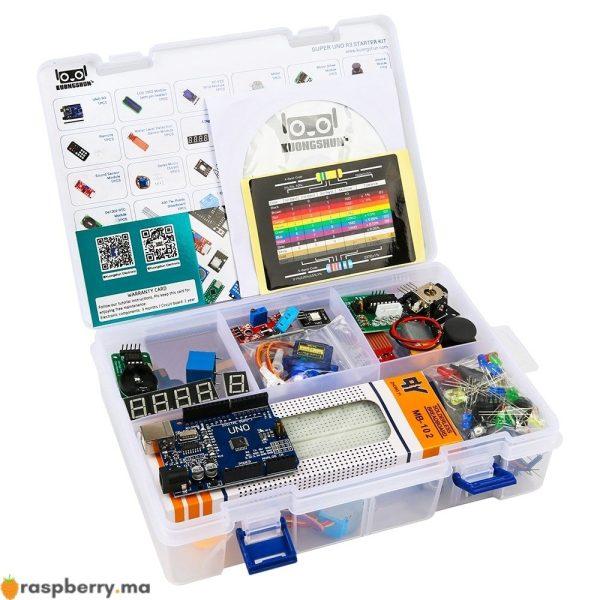 Kit d'ApprentissageArduino IDE UNO R3 CH340 avec tutoriel