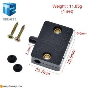 Interrupteur d'éclairage placard / porte-3